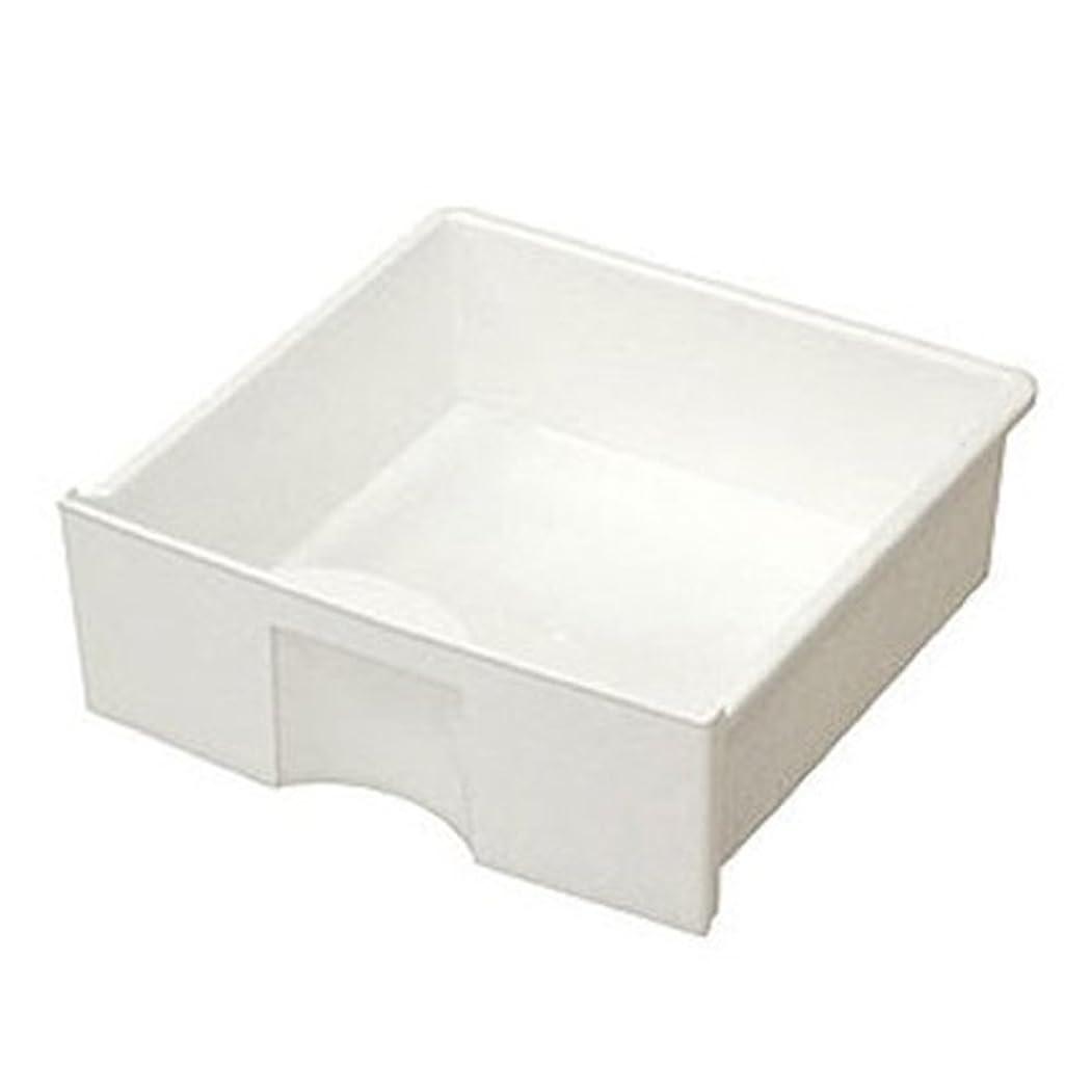 スキャン緯度どういたしましてアイリスオーヤマ CBボックス用プラスチック引出し ホワイト 幅27×奥行27×高さ9cm CXH-27P
