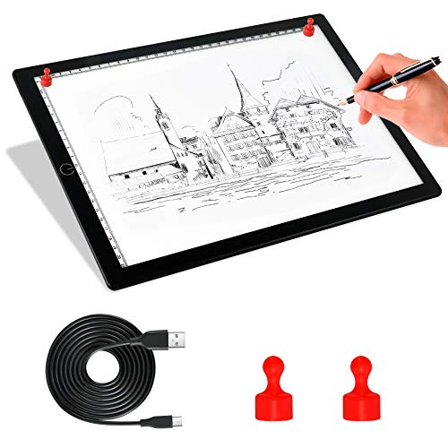 A4S Light Box for Tracing A4 Led Artcraft Light Pad Tracer for Drawing Artists Sketching Animation by PAATWA