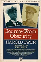 Journey from Obscurity (Oxford Paperbacks - Oxford Letters & Memoirs)