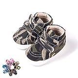 Morbuy Zapatos de Primeros Pasos Bebe Camuflaje Recién Nacido Cuna Suela Niño...