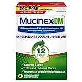 Cough Suppressant and Expectorant, Mucinex DM Maximum...