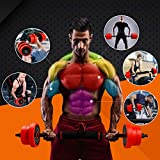 CCLIFE 2in1 Hantel Set Muskelgruppen