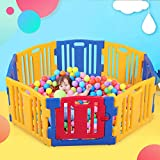 Baby Playpen 8 Panel Kids Activity Safety Play Center Yard Home Indoor Outdoor
