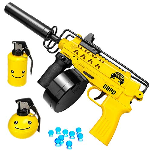 Scorpion Gel Ball Blaster - Water Bead Toy Gun for Backyard Shooting Games & Activities - 10000 eco Gel Beads