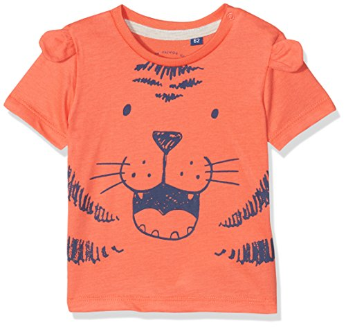 TOM TAILOR Kids TOM TAILOR Kids Unisex Baby 1/2 T-Shirt, Rot (Hot Coral|Red 2991), 62