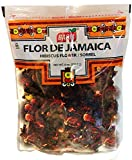 Top quality hibiscus flowers (Flor de Jamaica) Dried to perfection Stay fresh 8 oz resealable bag Full of antioxidants Caffeine free.