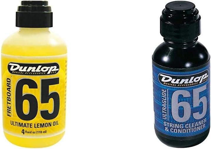 Dunlop Ultimate Lemon Griffbrettöl + Ultra gliss pour cordes