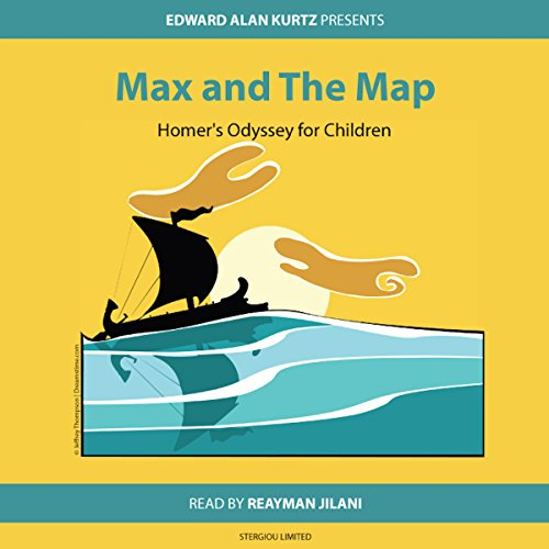 Max and the Map audiobook cover art