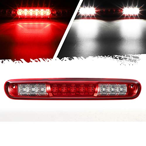 Partsam High Mount Stop Light Led Third 3rd Brake Light Replacement for Silverado and Sierra 1500...
