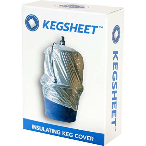 KegSheet: Keg Insulator Cover Cooler for Kegs and Keg Tubs