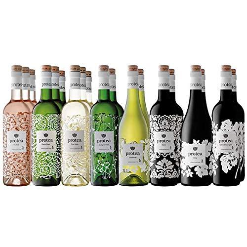 Protea Probier Sammlung - 18 Flaschen - 8 Weine - Trocken - Südafrika Anthonij Rupert Wyne