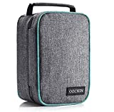 Smell Proof Bag with Combination Lock Odor Proof Stash Case Container; Medicine Lock Box Bag Travel Storage Case (Gray)