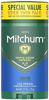 پک دوقلو ضد عرق و دئودورانت Mitchum Men، 2.70oz. توسط Mitchum