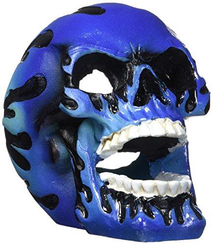Penn-Plax vuurschedel accessoire, blauw