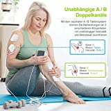 Zoom IMG-2 auvon elettrostimolatore muscolare tens ems