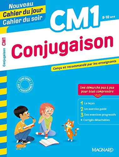 Conjugaison CM1 - Nouveau Cahier du Jour / Cahier du Soir - Concu et Recommande par les Enseignants