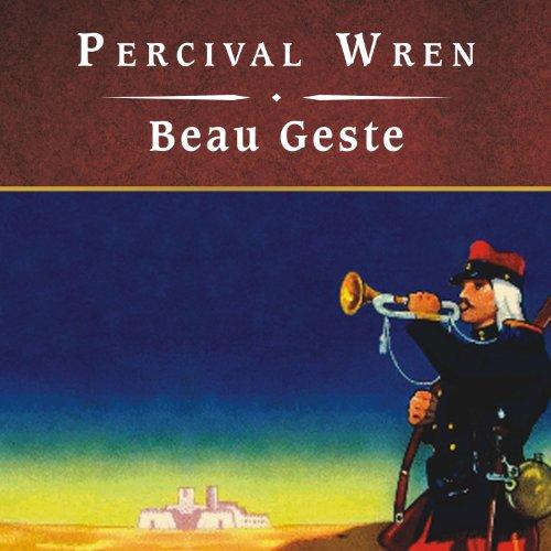 Beau Geste audiobook cover art