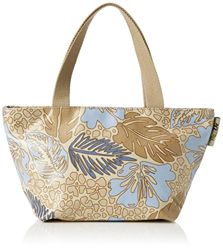 Re-uz Small Oilcloth Tote -Plein Air - Borsa tote da donna, multicolore, taglia unica
