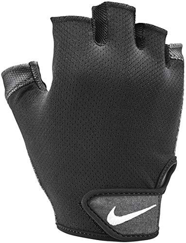 Nike Herren Essential Fitnesshandschuhe, Schwarz-Grau-Weiß, L