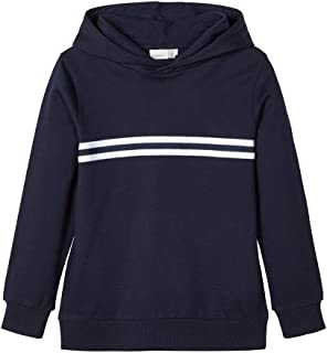 NAME IT Nkmthunder LS Sweat W Hood UNB Noos Sudadera para Niños