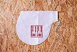 Fedo,10 x Innensack Sack-in-Sack System (Vlies-Staubsack für Parkettschleifmaschinen) Staubsack Parkett Schleifmaschine – passend für Lägler ELAN