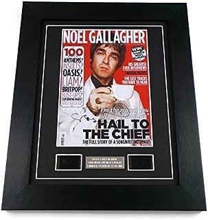 artcandi Noel Gallagher Signed + Noel Gallagher Film Cells Framed