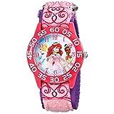 [ディズニー]Disney Kids キッズ 腕時計 プリンセス アリエル シンデレラ ティアナ ピンク キャラクターウォッチ W001667 腕時計 [並行輸入品]