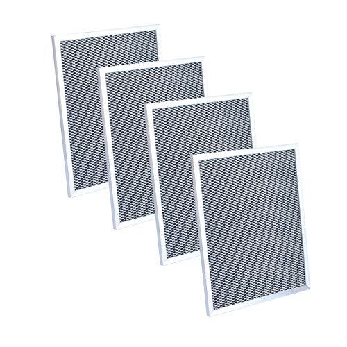 97007696 Kohlefilter für Dunstabzugshaube, kompatibel mit Broan 6105C, 97005687, 97007576, 99010123, C-6105 Ersatzfilter 8-3/4