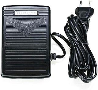 RASHION - Pedal para máquina de coser, control de pie electrónico con cable, universal para máquina de coser y pedal, cont...