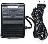 RASHION - Pedal para máquina de coser, control de pie electrónico con cable, universal para máquina de coser y pedal, controlador de velocidad variable