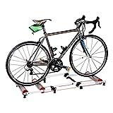 Hammer Montar bicicleta Plataforma, Roller cubierta Riding Plataforma, tres veces soporte Mountain Road Bike Training, aleación de aluminio silencioso Inicio entrenamiento de ciclismo estante plegable