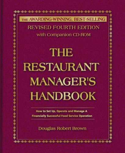Image OfThe Restaurant Manager's Handbook: How To Set Up, Operate, And Manage A Financially Successful Food Service Operation