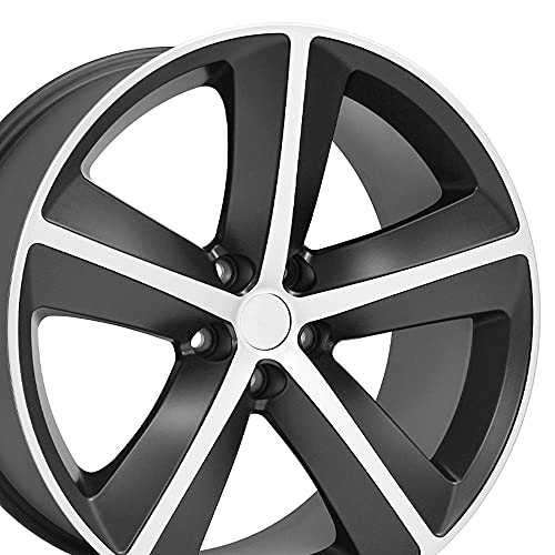 OE Wheels LLC 20 inch Rim Fits Dodge Challenger SRT Wheel DG05 20x9 Mach'd Wheel Hollander 2357