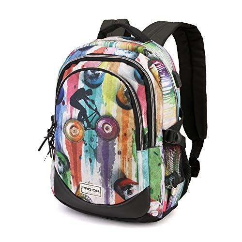 PRODG PRODG Graffiti-Running HS Rucksack Mochila Tipo Casual 44 Centimeters 21 Multicolor (Multicolour)