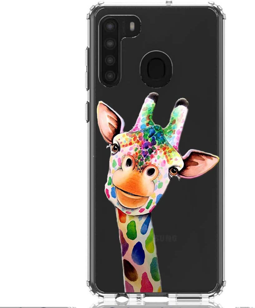 HUIYCUU Compatible with Galaxy A21 Case 6.5
