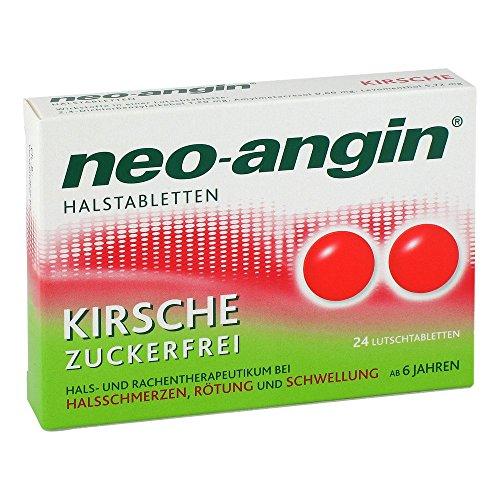 neo-angin Halstabletten Kirsche zuckerfrei, 24 St. Tabletten