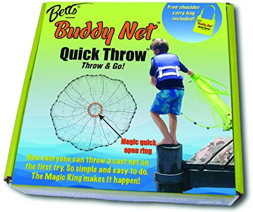 Betts CH4-I-EZ Buddy Throw Net, 4'