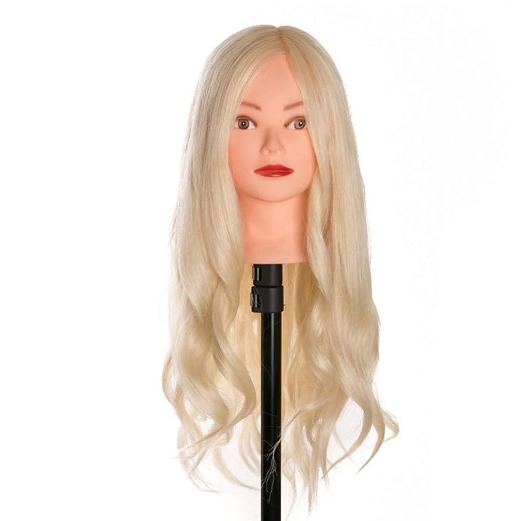 怒っている幸運な句読点ヘアカットトレーニングかつらメイクディスクヘアスタイリング編組ティーチングダミーヘッド理髪サロンエクササイズヘッド金型3個