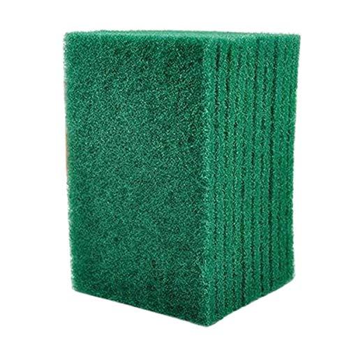 Schone Products (UK) Riutilizzabile Purga Pastiglia - Resistente Verde Catering Cucina Spugna Spugna Abrasiva Pastiglie - Pack of 40