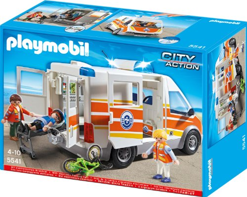 Playmobil 5541 - Rettungswagen mit Licht und Sound
