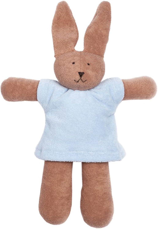 Nanchen Small Organic Cotton Rabbit, bluee