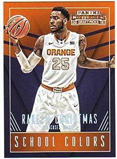 Basketball NBA 2015-16 Panini Contenders Draft Picks School Colors #36 Rakeem Christmas NM-MT
