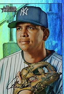 2007 Topps Heritage Rainbow #190a Alex Rodriguez