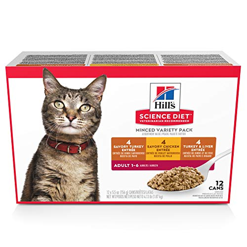 Hill's Science Diet Minced Wet Canned Food