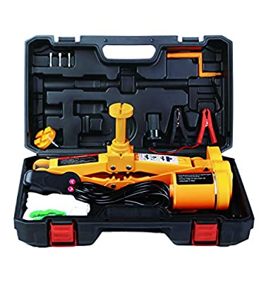 Electric Car Jack or Jack Set 3 Ton by ROGTZ DC 12v All-in-one Automatic Sedan Lift Scissor Jack Car Repair Tool,Jack Set or inpact Wrench, Three Options.
