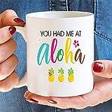 N\A Aloha, Taza de café, Taza de Aloha, Hawaii, Taza de Hawaii, Taza, Hawaiano, Luna de Miel, piña, Regalo de Hawaii, Boda de Destino, Taza de Verano, Tazas