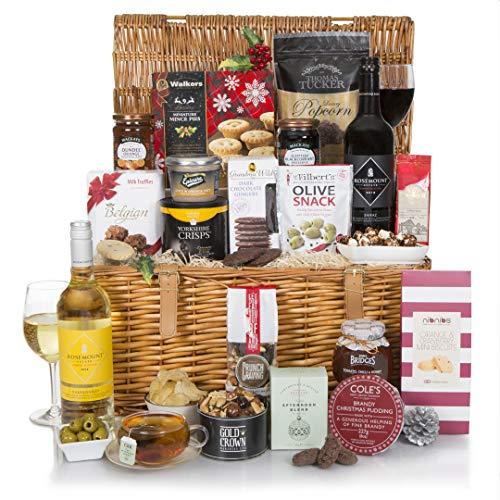 Cesta tradicional de Navidad de lujo - Parte de nuestra gama de cestas de...