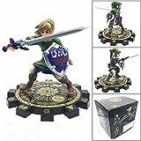 WXIAO HMMOZ Acción Zelda Figura Link Espada Anime Juguetes Modelo muñeca Zelda Espada figurilla colección Juguetes PVC colector Figma Animado Figura (Color : No Retail Box)