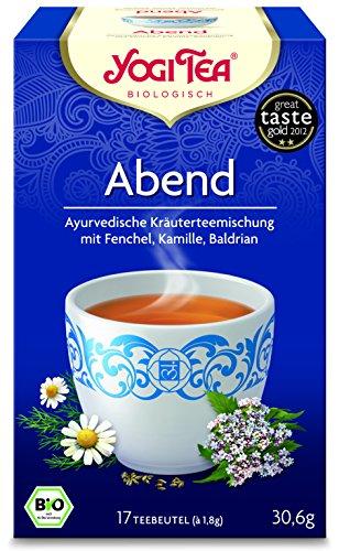 6er Pack Yogi Tee BIO Abend Tee, 17 Btl. à 1,8g