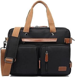 Wagjiestnsstb حقائب يد للرجال، حقيبة ظهر 15.6 / 17.3 بوصة حقيبة ظهر للكمبيوتر المحمول، حقيبة ظهر أنيقة للأعمال السفرية، مع...